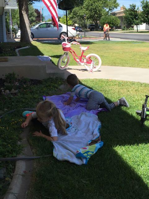 Keeping Cool- HOT Summer Days