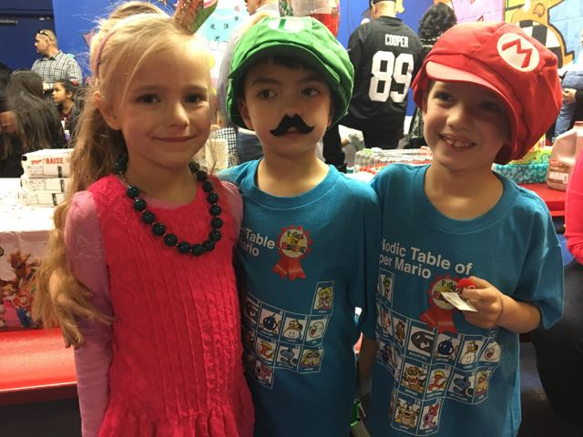 Mario Brothes Party for Judah and Asher