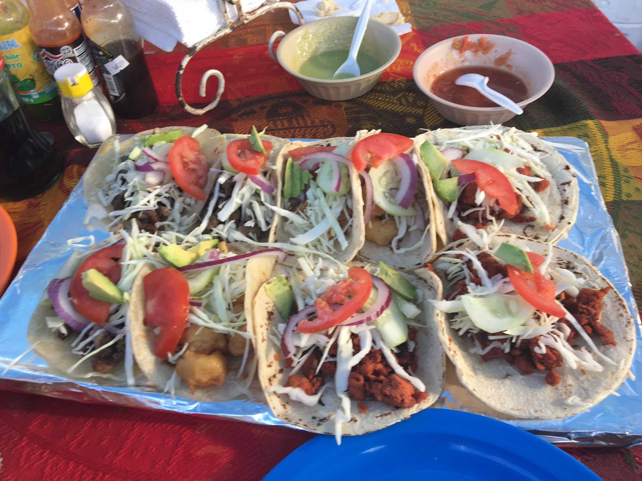 Tacos and Getting Back on the Ship in Cabo