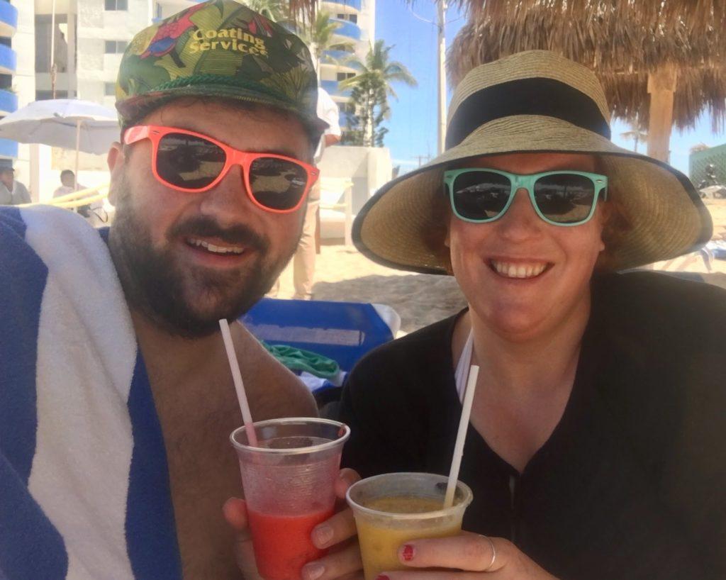 Mazatlan: Grown Ups Morning on the Beach