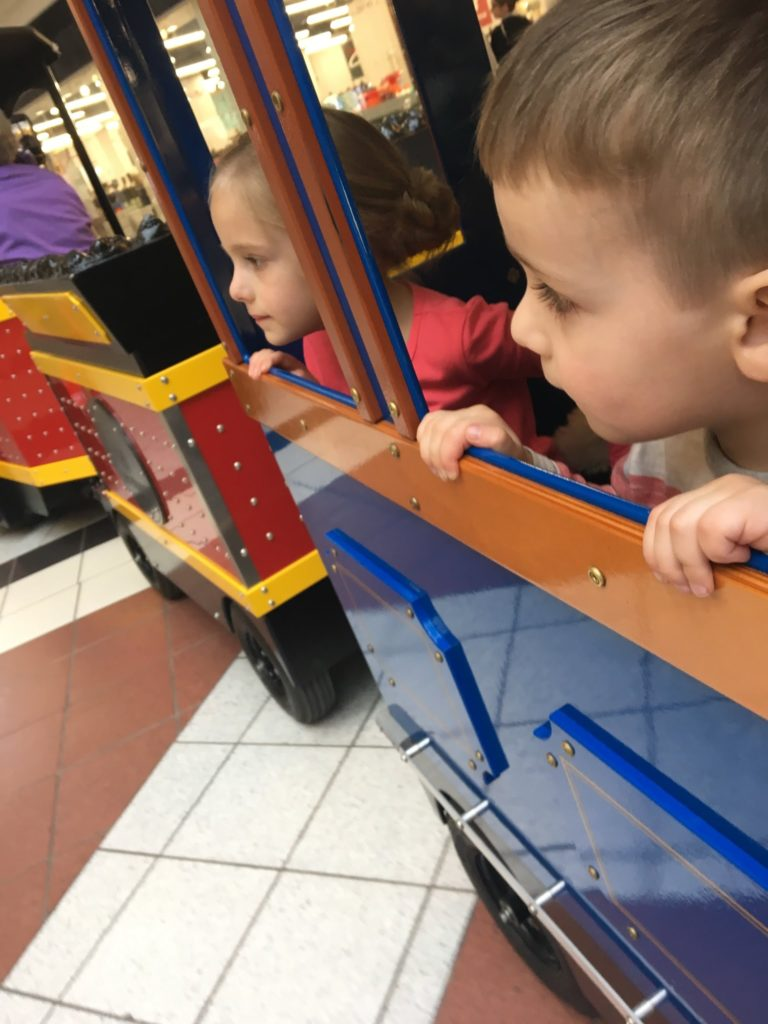 Hair Cuts and the Mall Train