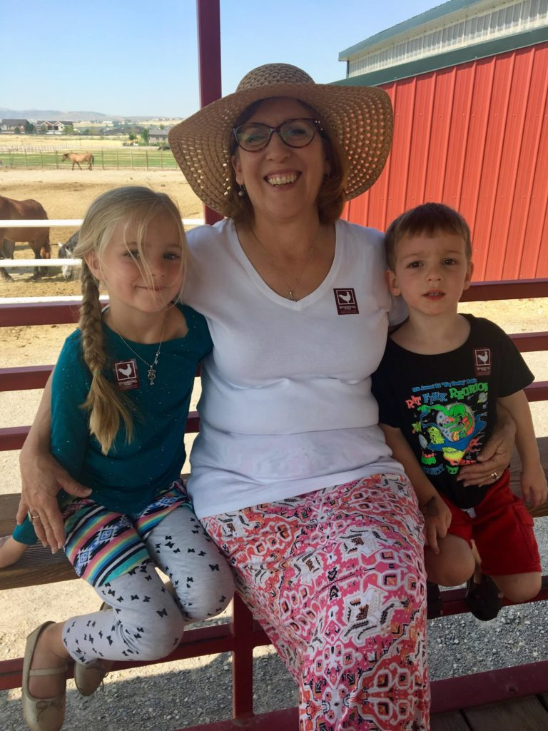 Visiting Farm Country with Grandma