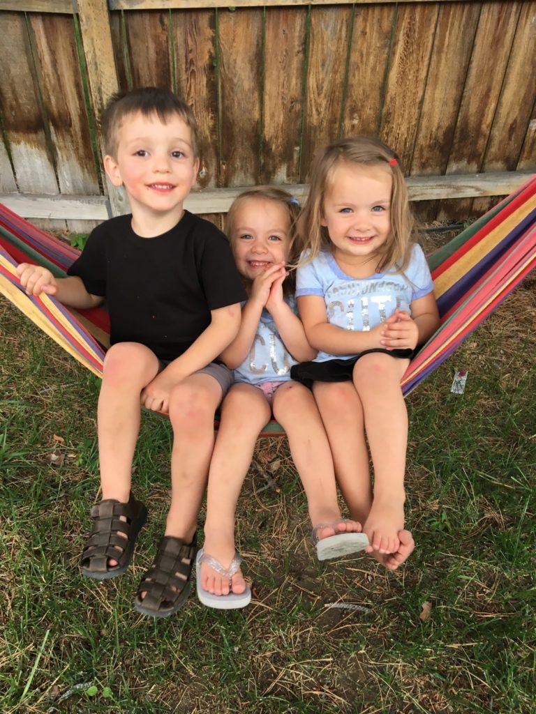 Luke, Rosy, Ginger-Swinging