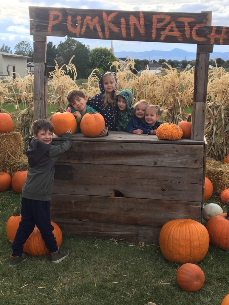 Pumpkin Patch with the Reddochs