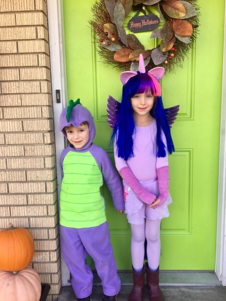 Kids In Their Costumes