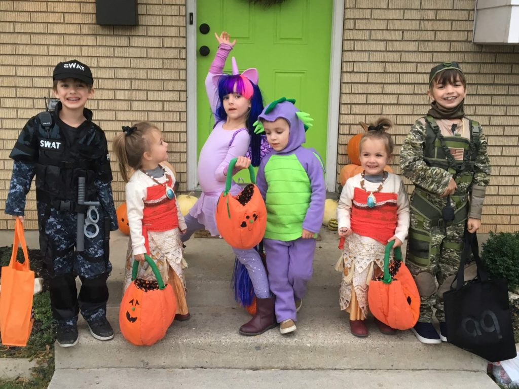 Halloween Night with Cousins!