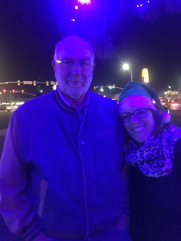 Mom and Dad Visit, City Center Lighting
