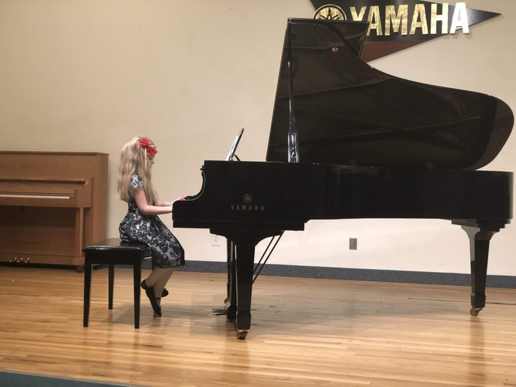 Mirah's Christmas Piano Recital