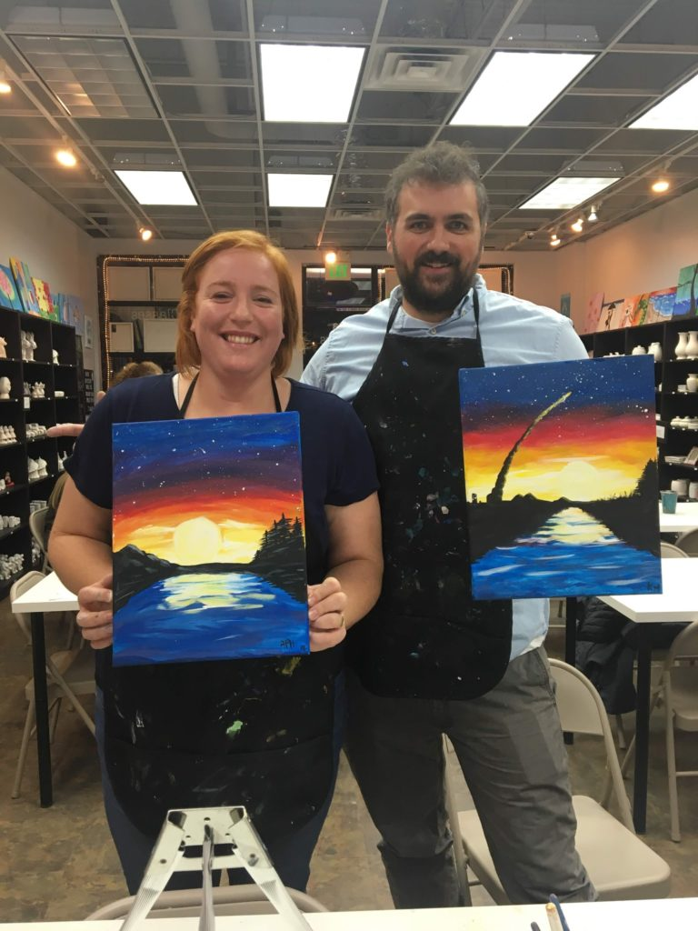 Date Night, Paint Night