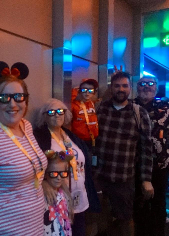 Disneyland Day 1.75-Dinner and Nighttime at Disneyland