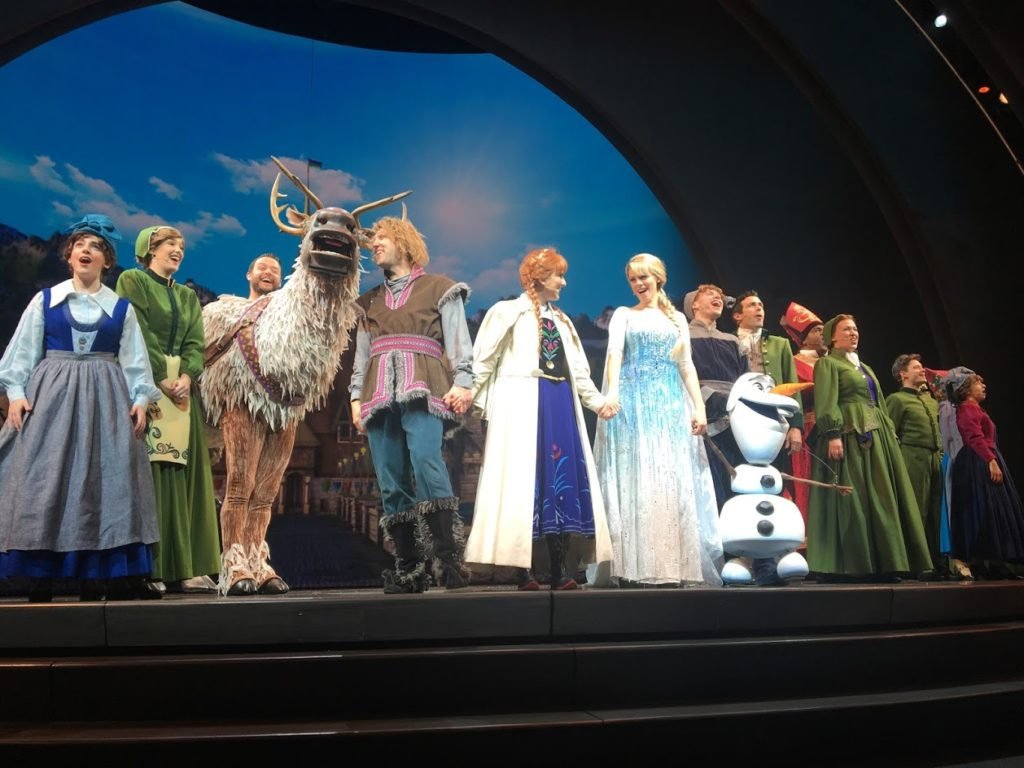 Disneyland Day 2.5- Frozen Lunch and a Show