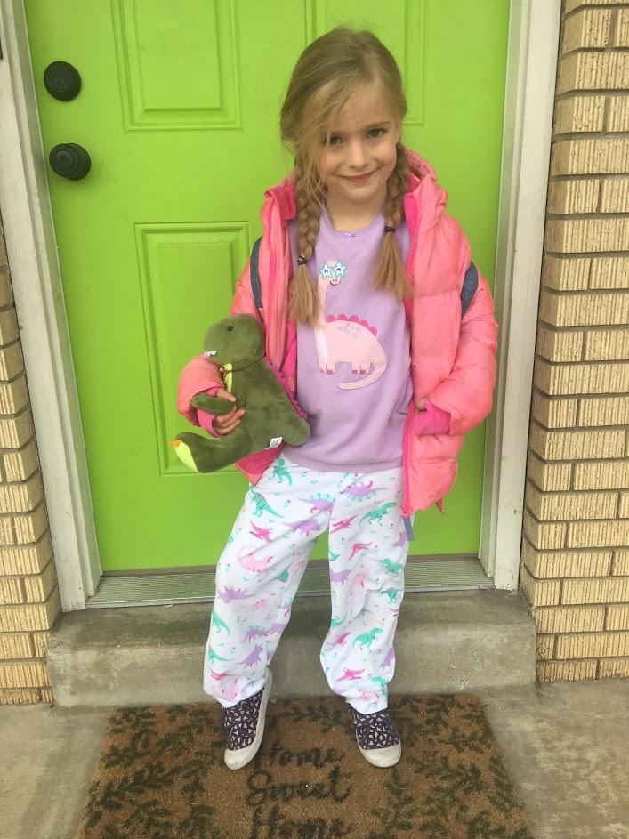 Mirah's Pajama Day