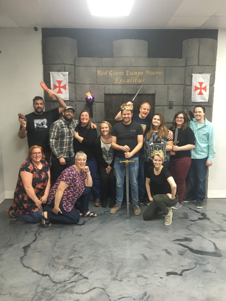 Escape Room, Excalibur!!