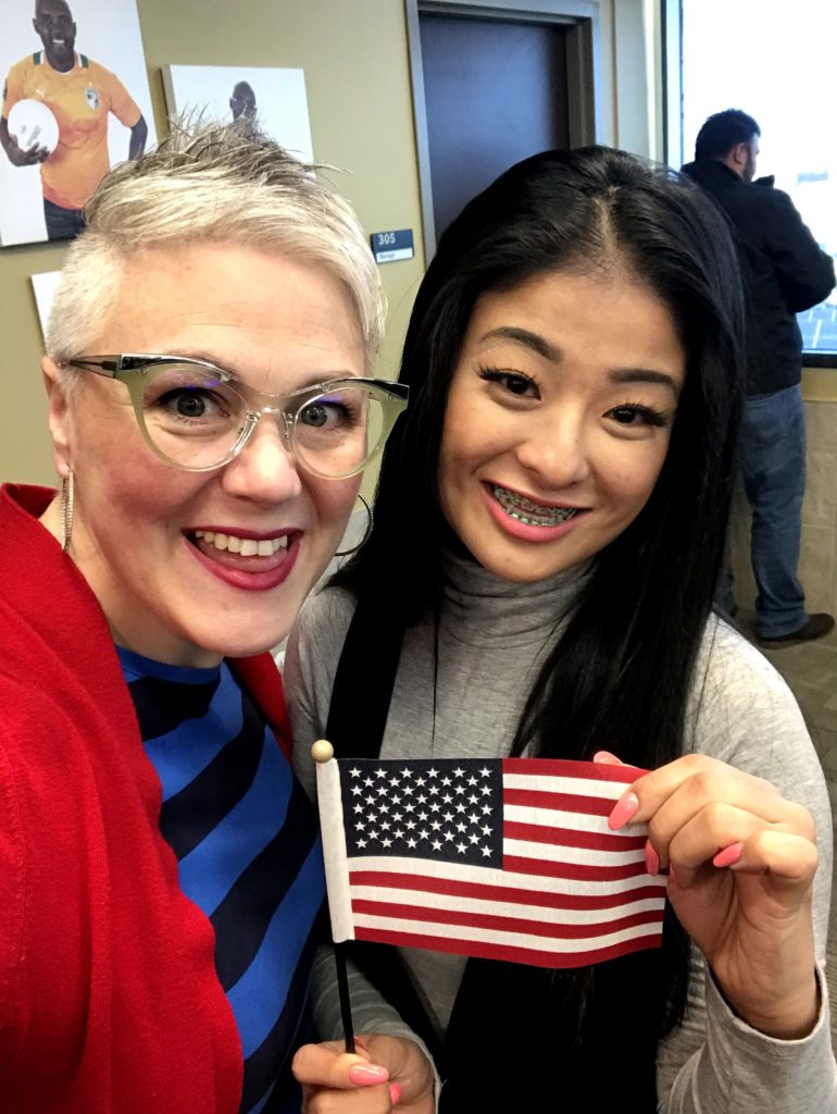Gaby Became a Citizen