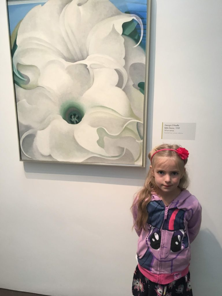Santa Fe #2: Georgia O'Keeffe & The Miracle Staircase