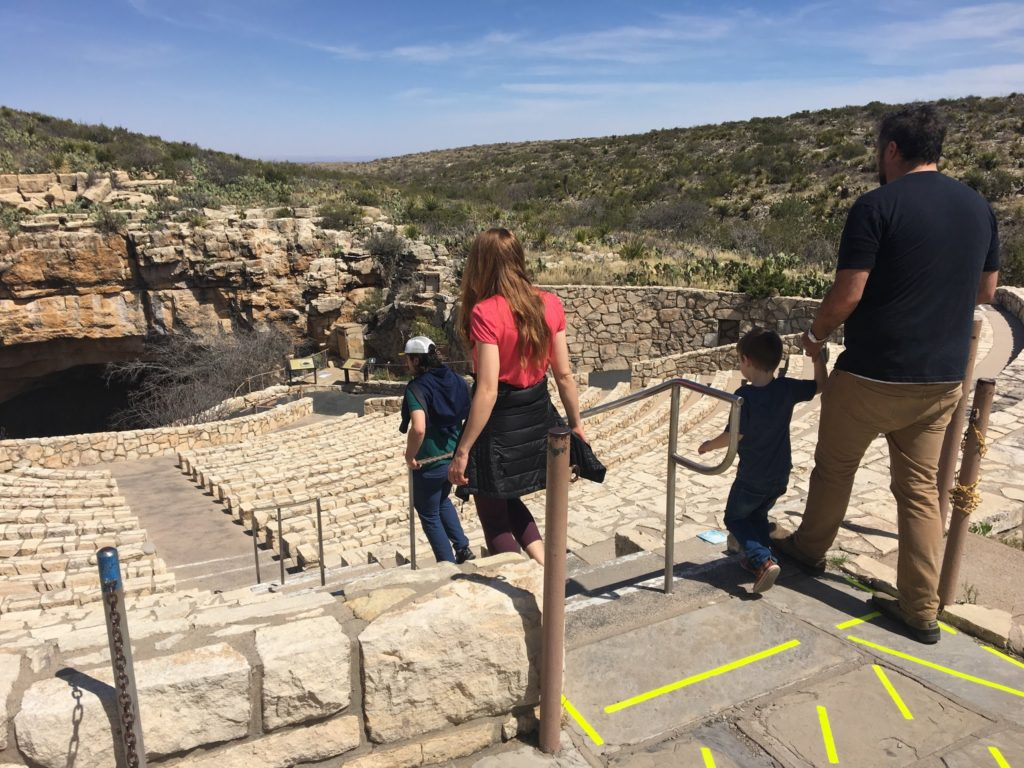 Carlsbad Caverns #2: Descending from the Natural Opening