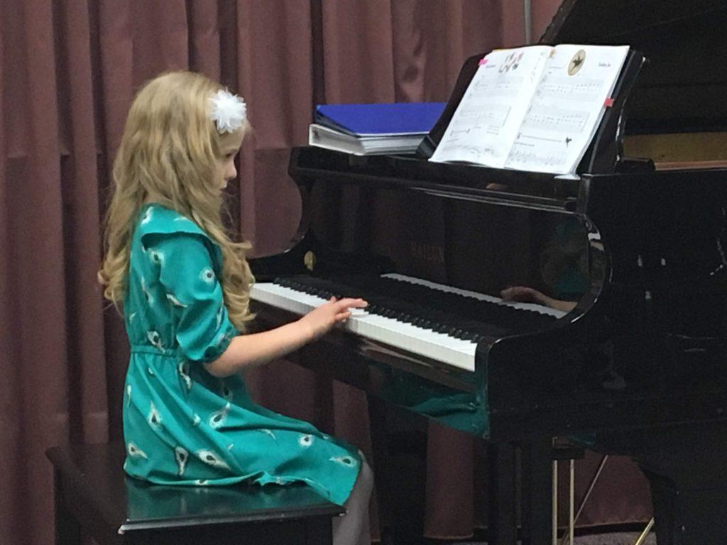 Mirah's Piano Recital
