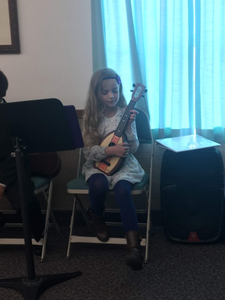 Mirah's Ukulele Recital (First One!!)