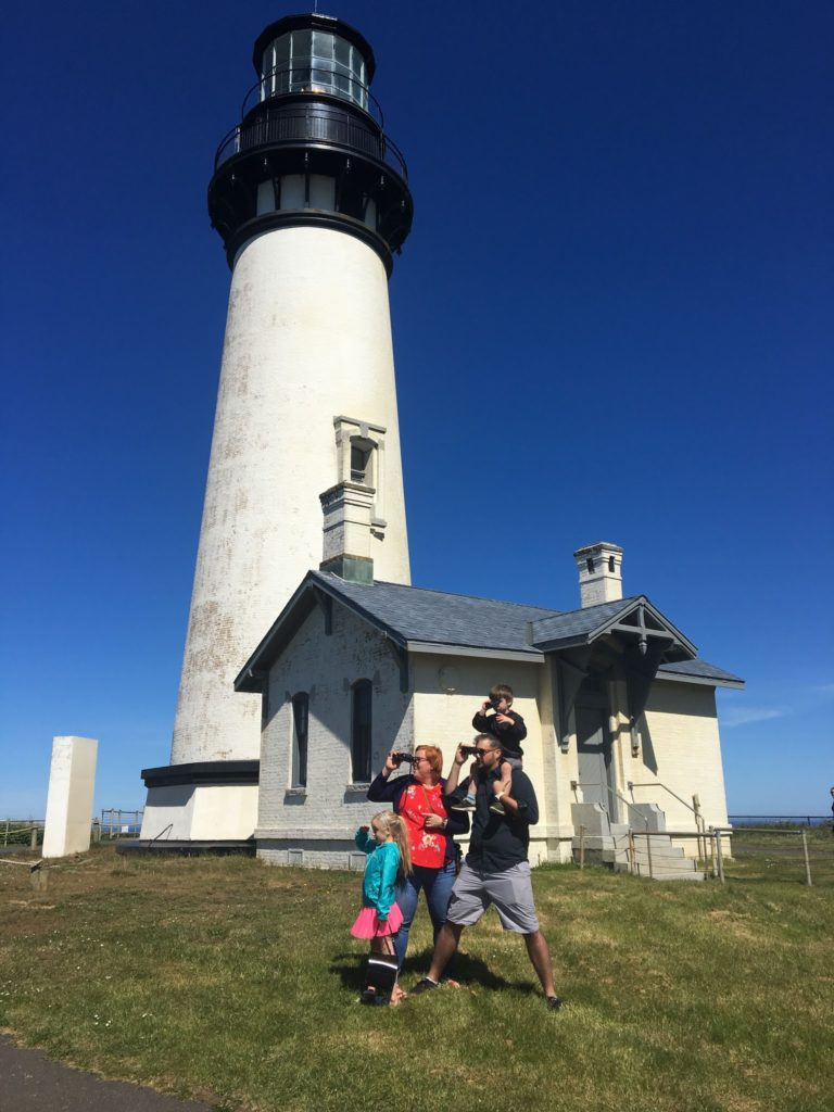 Oregon Coast Day Three: Breakfast and a Light House