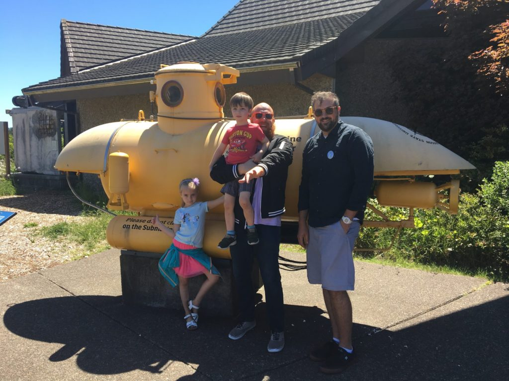 Oregon Coast Day Three: Hatfield Science Center, Lunch and The Docks