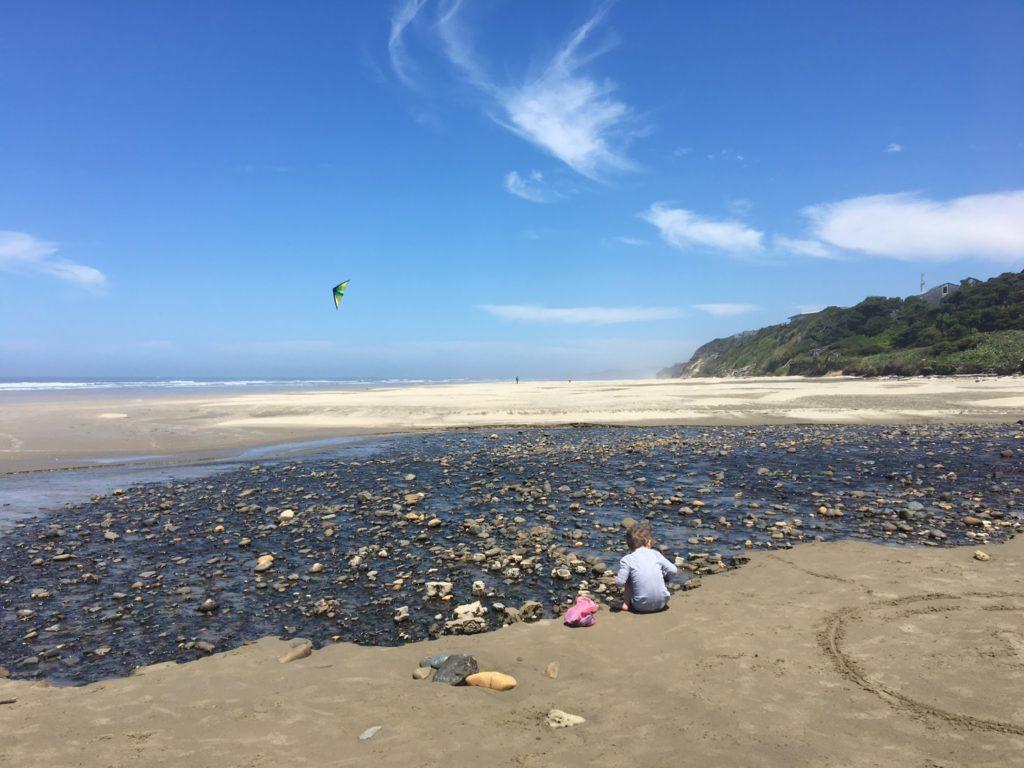Oregon Coast Day Four: Agate Hunting