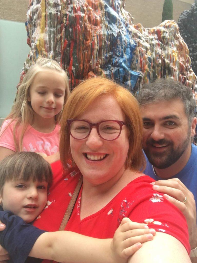 Landy and Sean's Wedding Trip: Portland Museum of Art