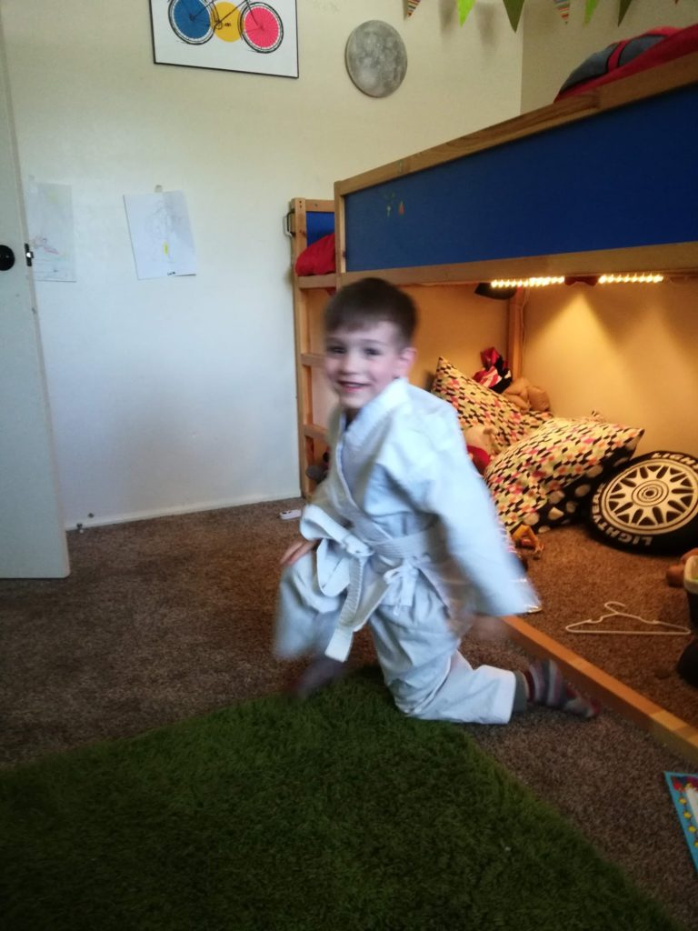 """Lucas Update: """"Karate"""" Kid and Missionary"""