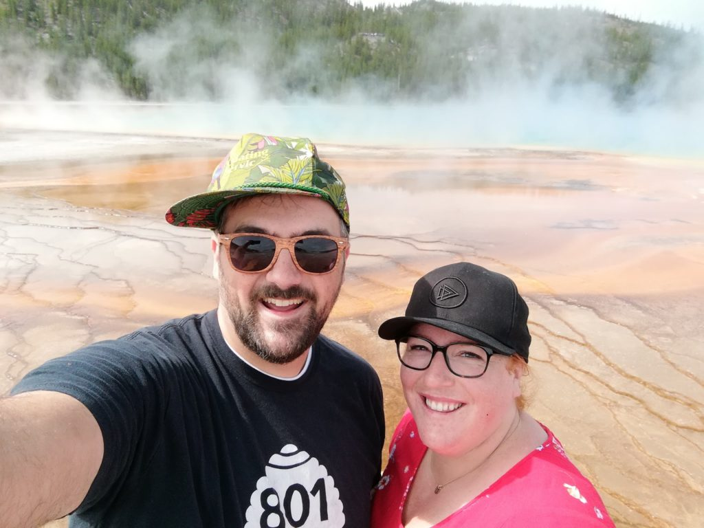 Yellowstone Day Three: Grand Prismatic Spring