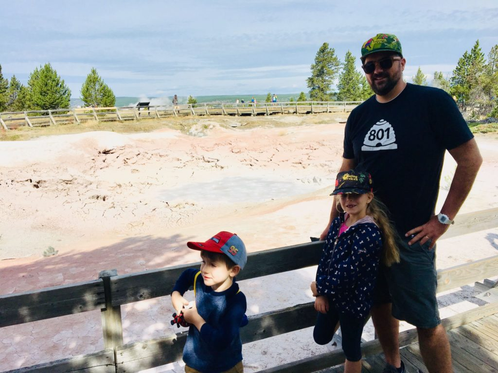 Yellowstone Trip Day Three: Paint Pots