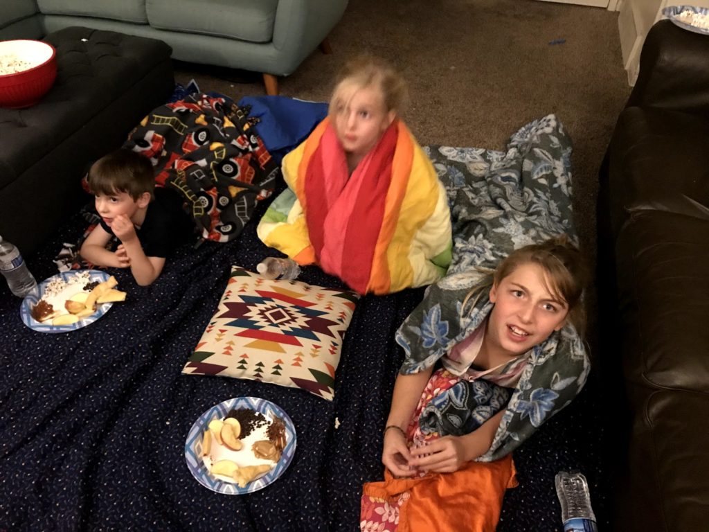 Pizza Party Movie Night Hocus Pocus
