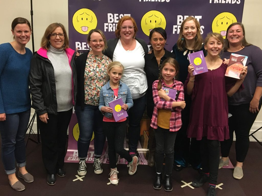 Real Friends, Best Friends, and GUTS : Meeting Authors Shannon Hale, LeUyen Pham, and Raina Telgemeier