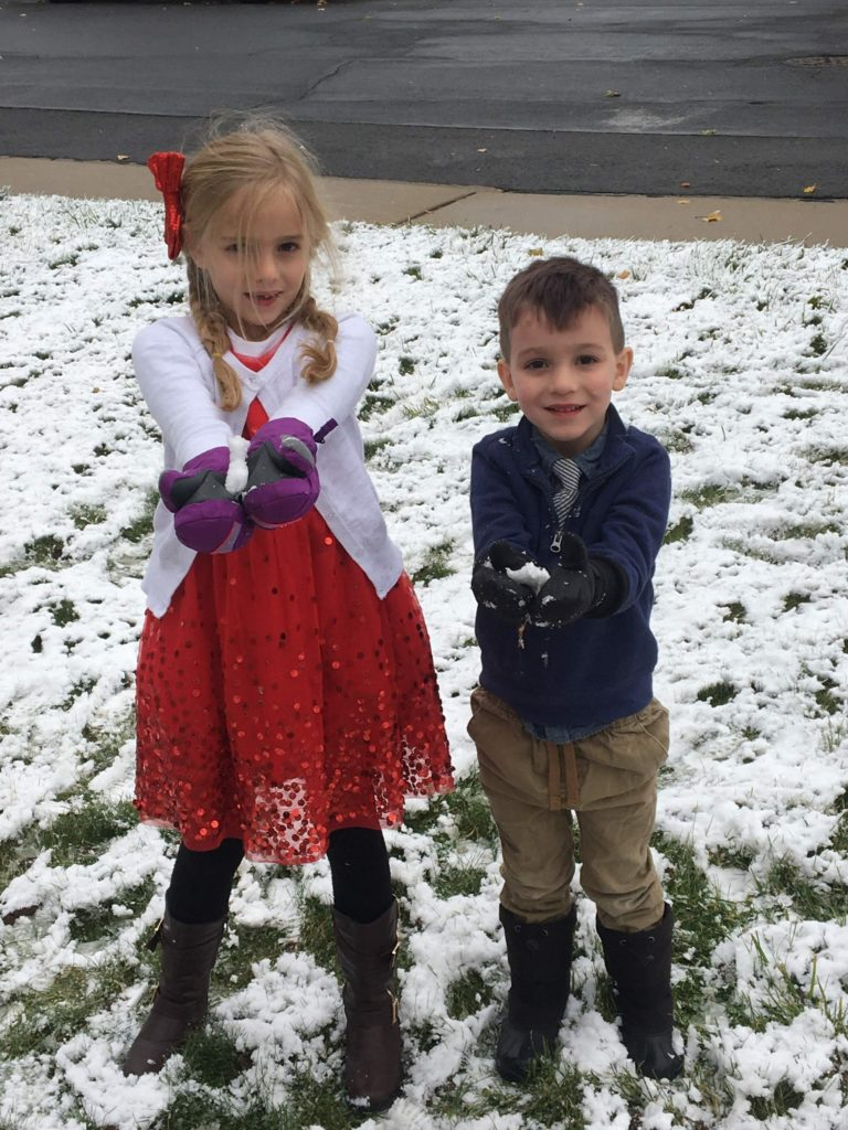 Fall 2019 First SNOW Day