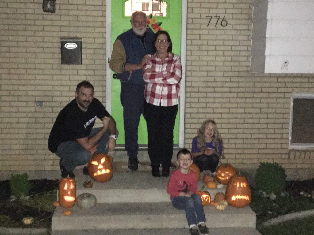 Carving Pumpkin 2019