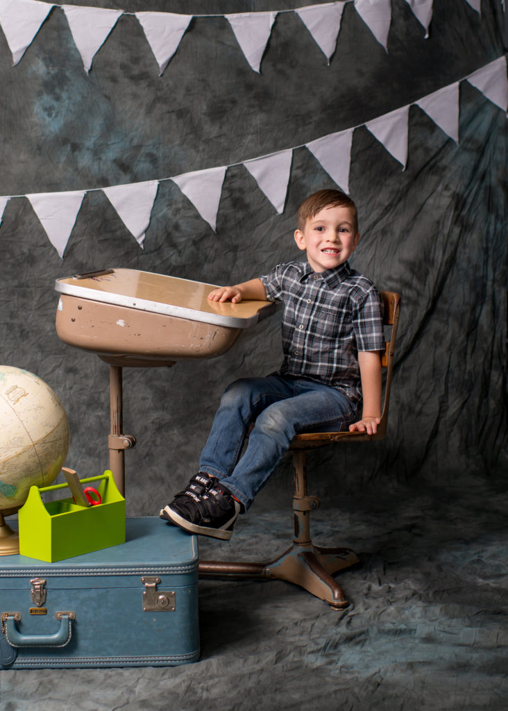 Lucus's 4 Year Old Preschool Photos