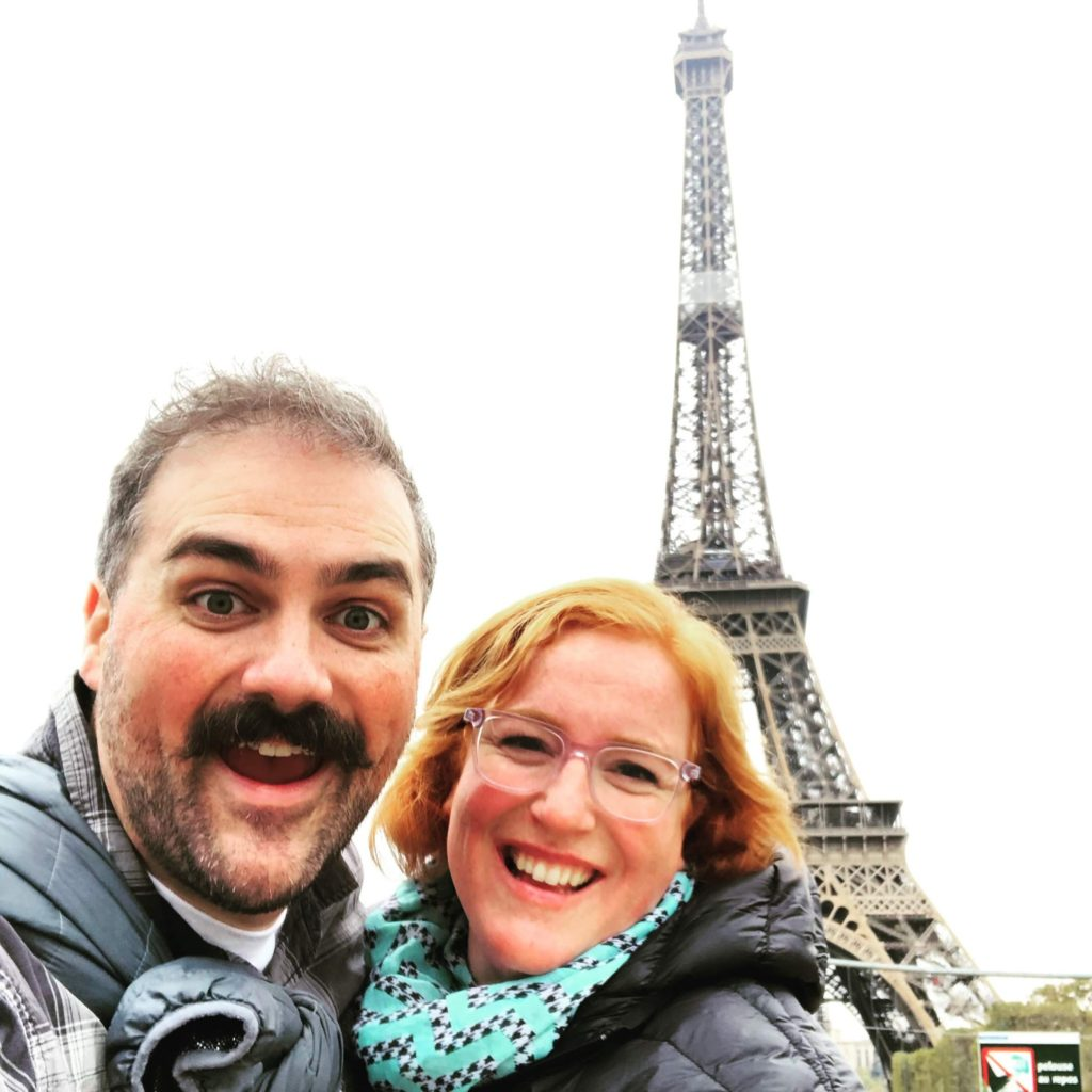 Paris Day 2: The Eiffel Tower!