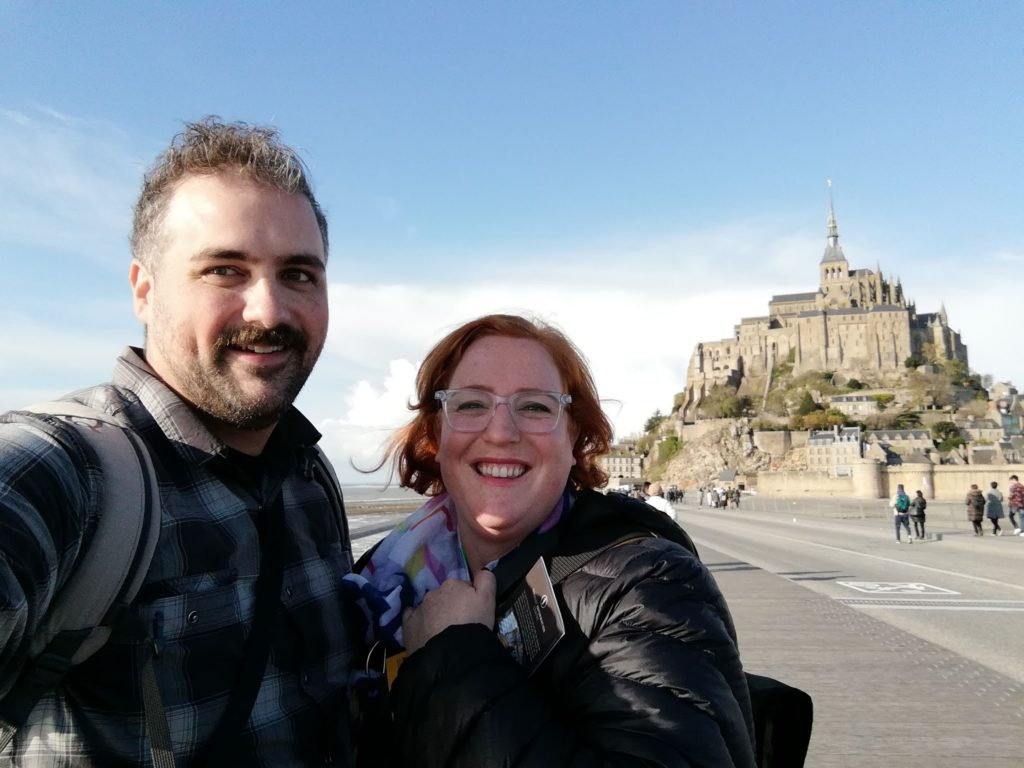Paris Day 6: Getting out of the City, to Mount Saint Michel