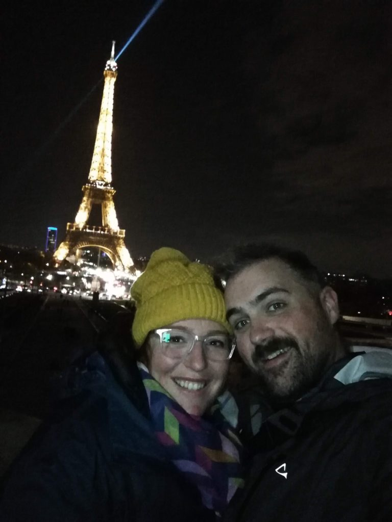 Paris Day 9: Final Night, Lock Bridge, Eiffle Tower