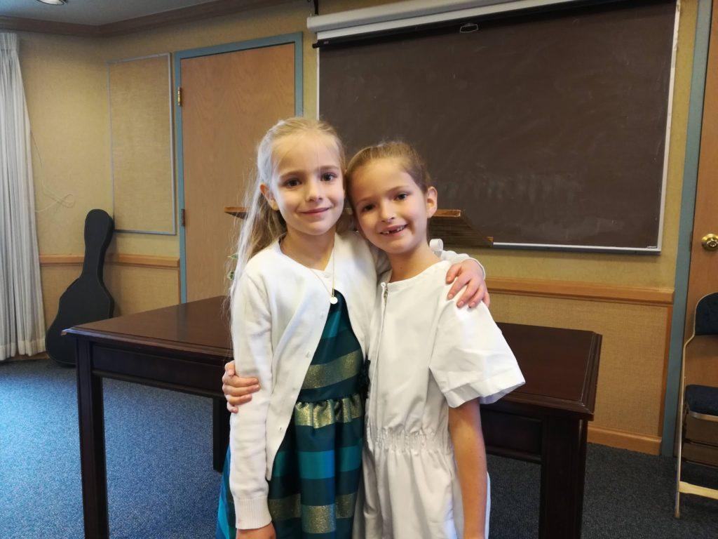 Aftyn's Baptism