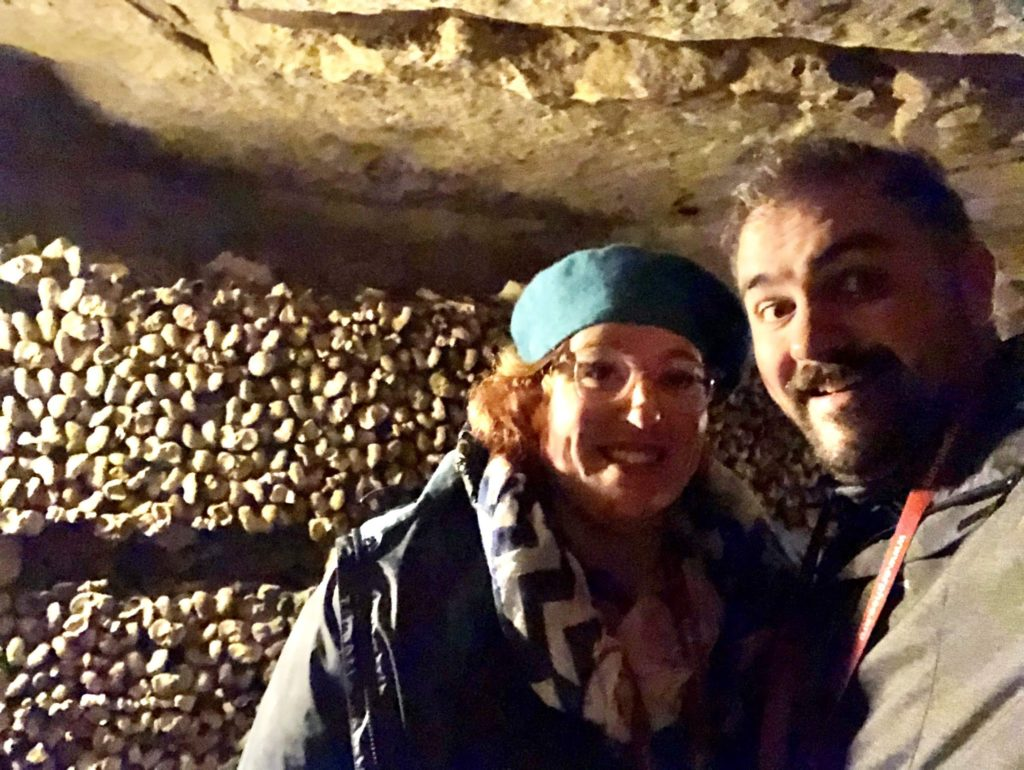 Paris Day 9: The Paris Cemetery and Catacombs