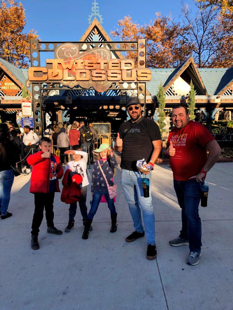 Christmas Trip 2019 Day 9: Six Flags!!