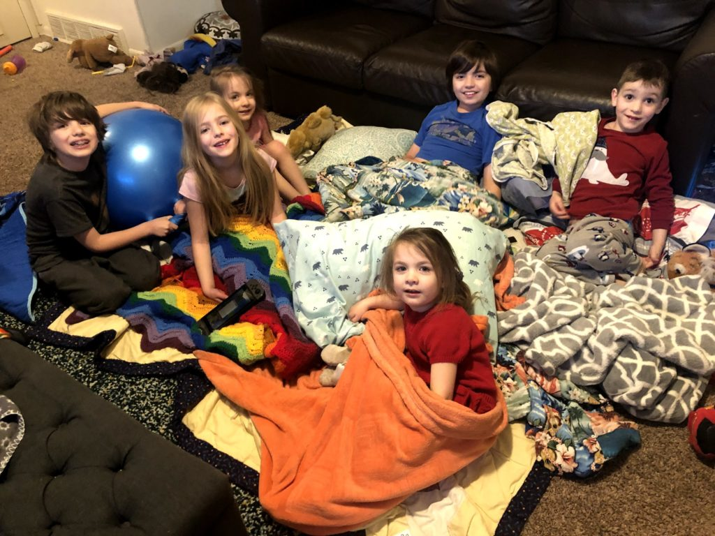 Cousin's Slumber Party!!
