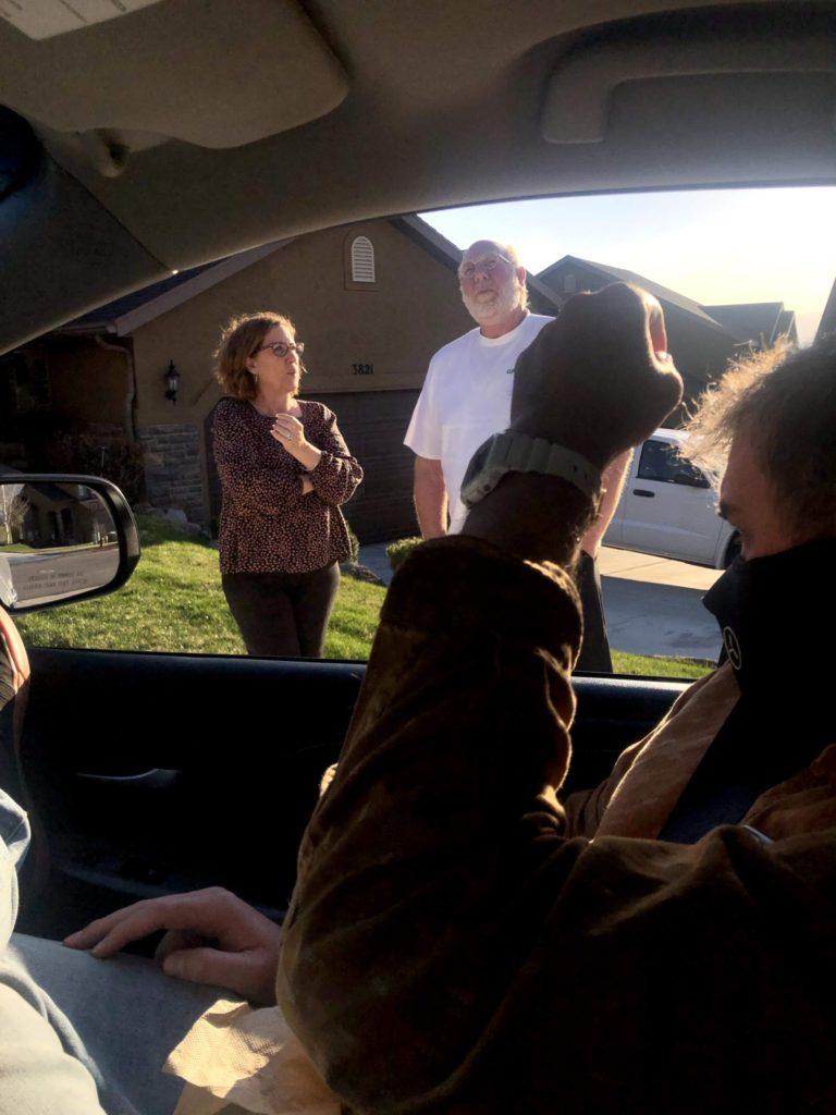 Qucik Visit to Grandma and Grandpa Pippy