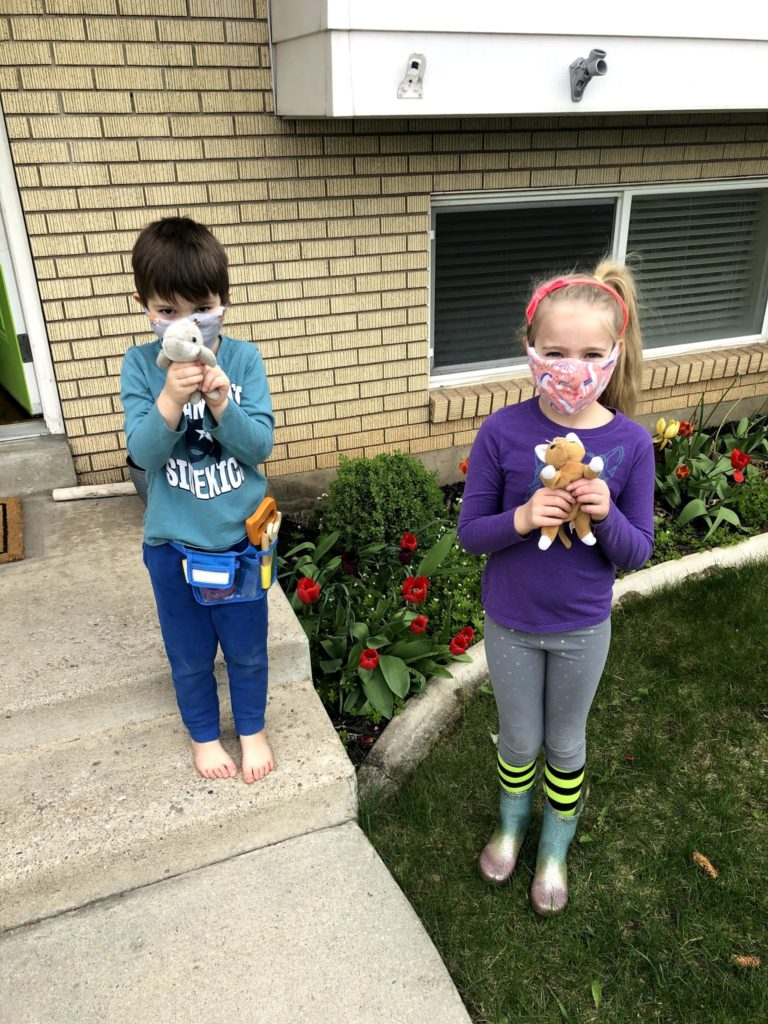 Silly Saturday: Animal Walk, Bike Rides, Video Games, Chess, and Face Masks