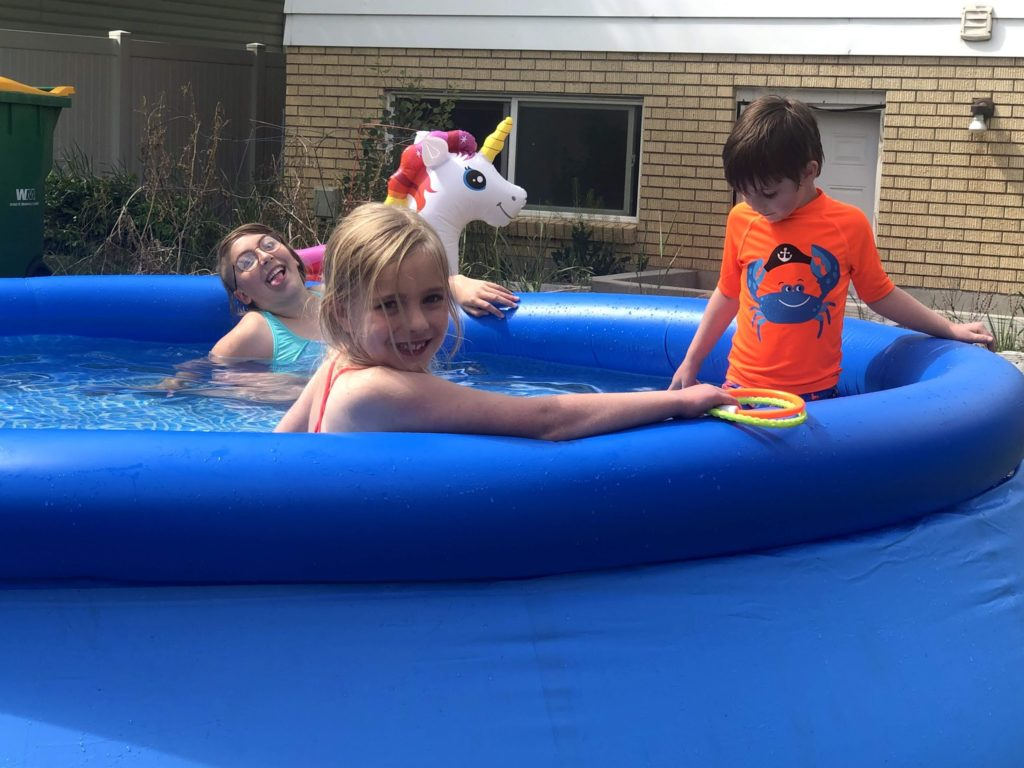 Mirah's Birthday Weekend: Pool Party with the Whitmores