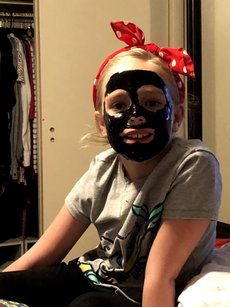 Mirah's Birthday Weekend: Face Masks