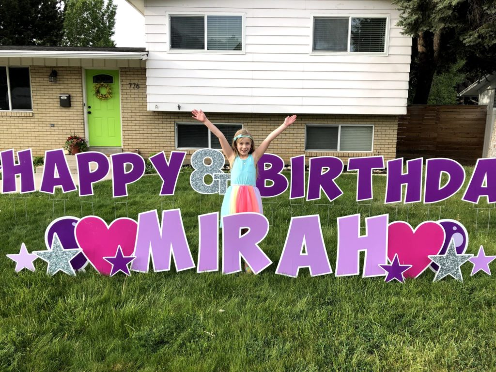MIrah's 8th Birthday: Good Morning!