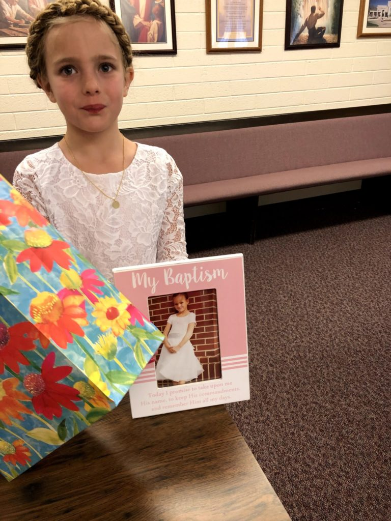 Mirah's 8th Birthday: After the Baptism