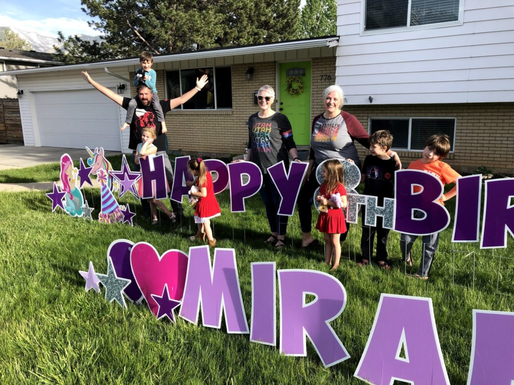 Mirah's 8th Birthday: Last Few Visits