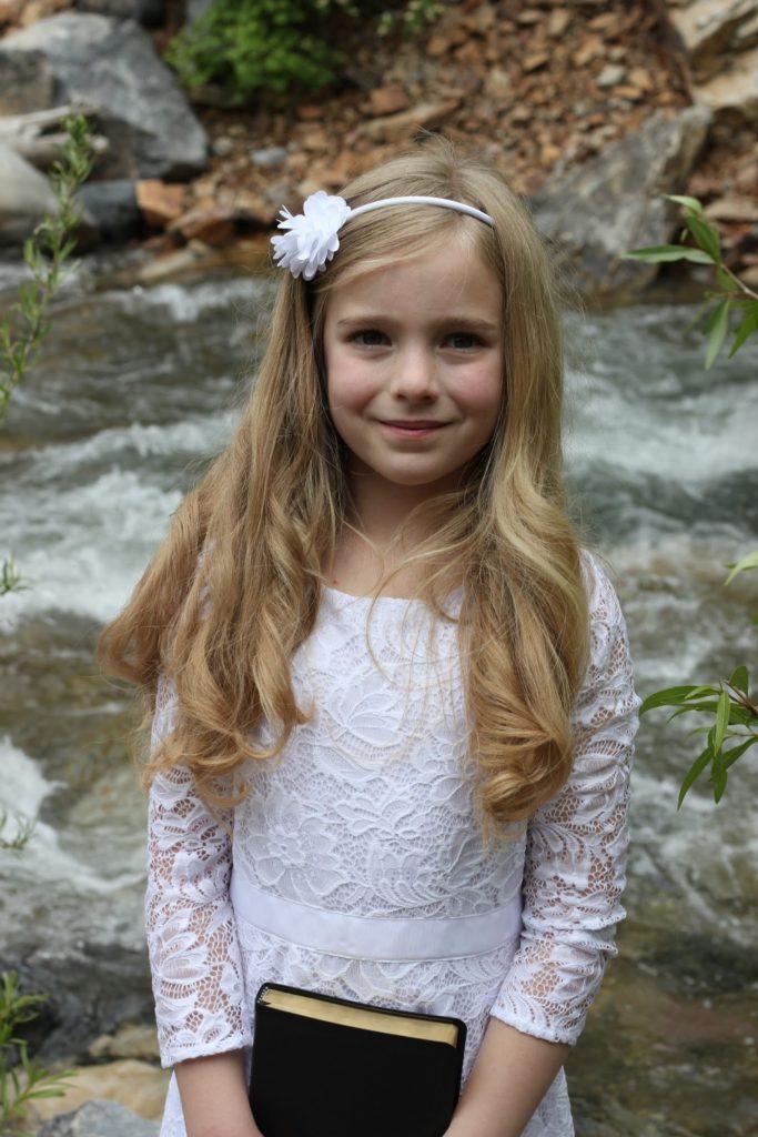 Mirah's Baptism Photo Shoot