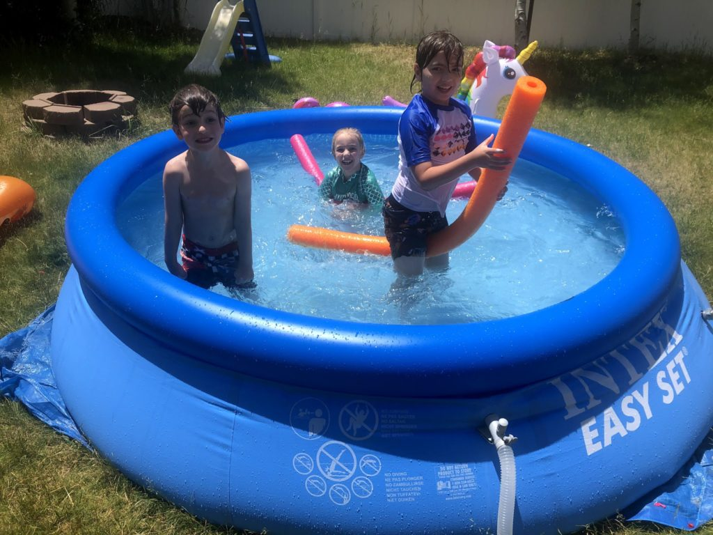 Summer Tuesdays with Cousins: Pool Time!